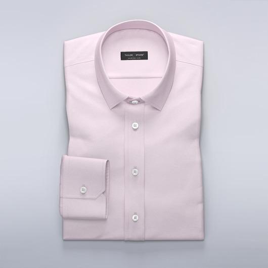 Vaaleanpunainen kauluspaita French Oxford -kangasta