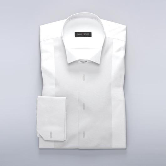 Klasyczna koszula frakowa z plisą na spinki