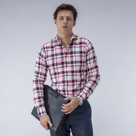Kariertes rotes Hemd