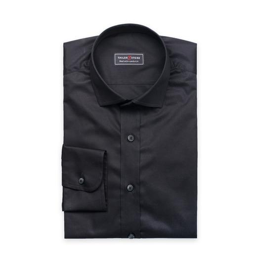 Moderne dresskjorte i svart Ramsey