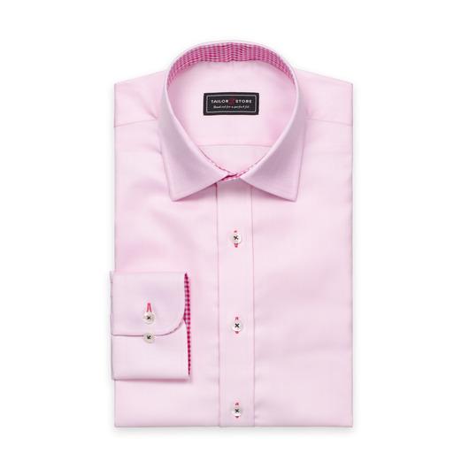 Chemise en coton rose clair