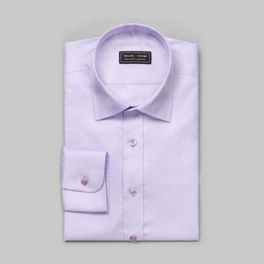Light purple herringbone shirt