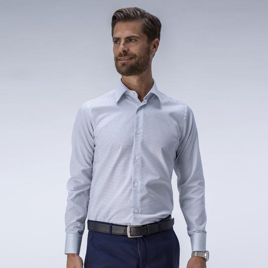 Moderni ruutukuvioitu business-paita