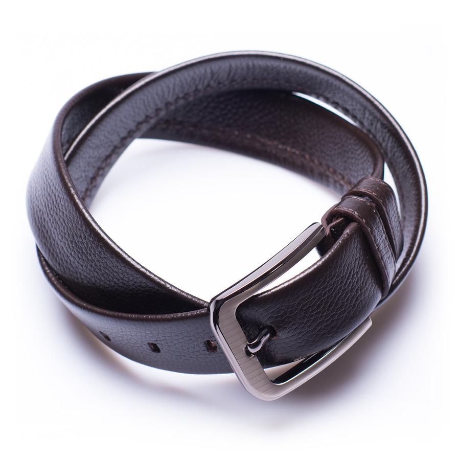 Hyattsville - ceinture en cuir brune