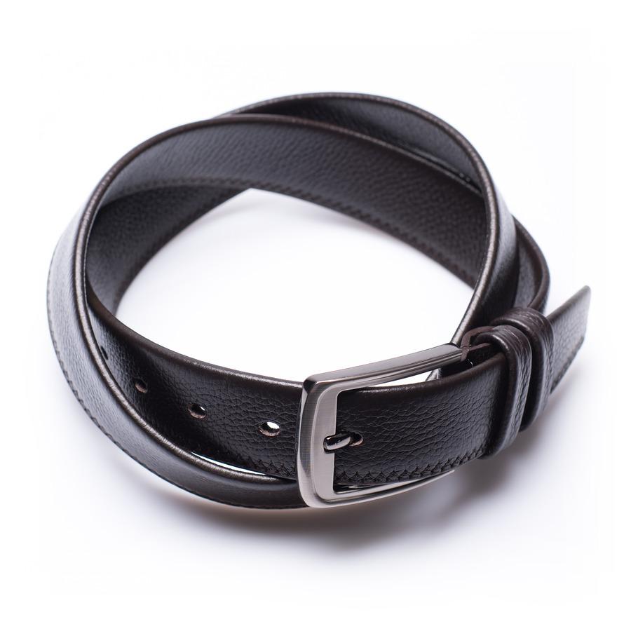 Logan - ceinture en cuir marron