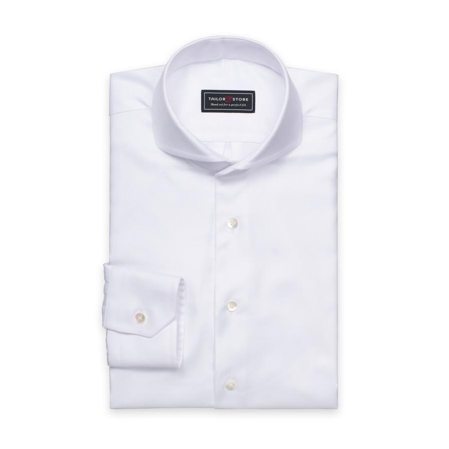 hvid-twill-skjorte