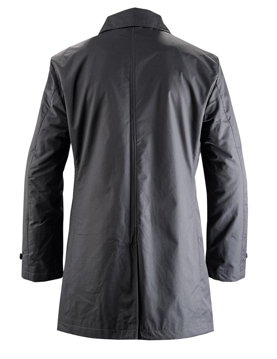 manteau car classique en noir sur mesure coupe en a. Black Bedroom Furniture Sets. Home Design Ideas